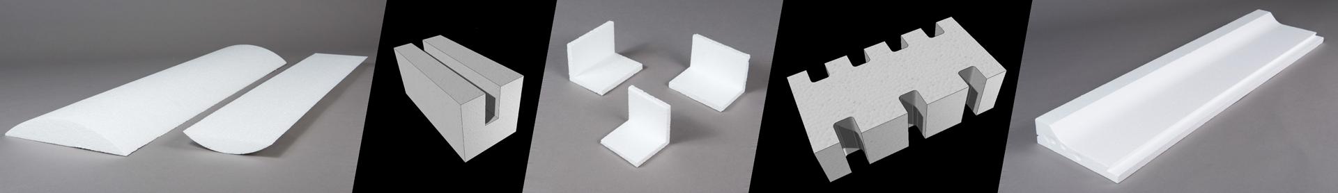 Epact Industrie polystyrène pièces découpées